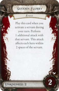 Overlord Card - Sudden Flurry