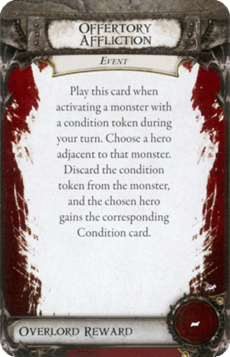 Overlord Card - Offertory Affliction