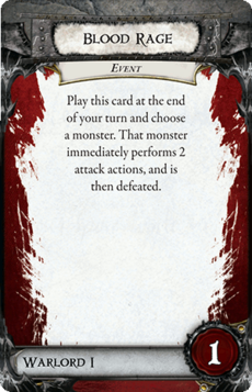 Overlord Card - Blood Rage