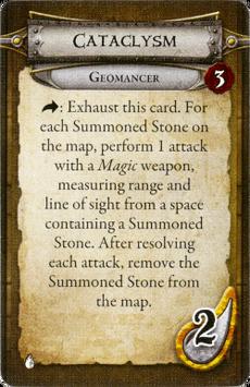 Geomancer - Cataclysm