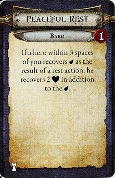 Bard - Peaceful Rest