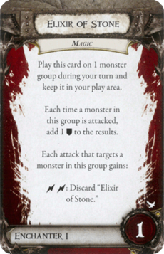 Overlord Card - Elixir of Stone