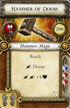 Act II Item - Hammer of Doom
