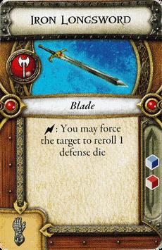Knight - Iron Longsword
