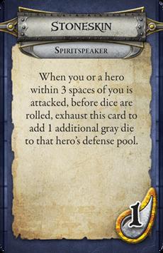 Spiritspeaker - Stoneskin