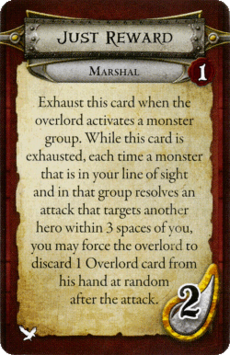 Marshal - Just Reward