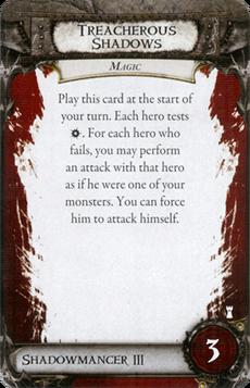 Overlord Card - Treacherous Shadows