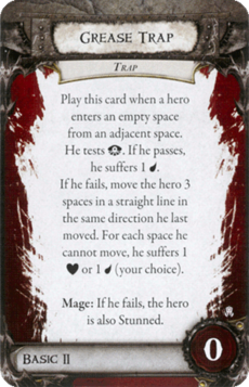 Overlord Card - Grease Trap