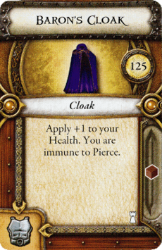 Act I Item - Baron's Cloak