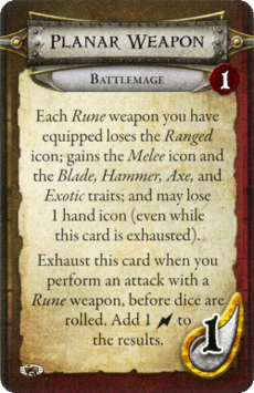 Battlemage - Planar Weapon
