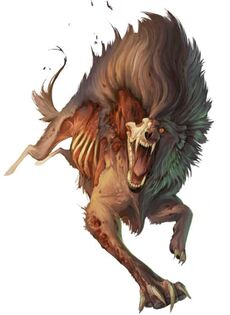Image result for barghest