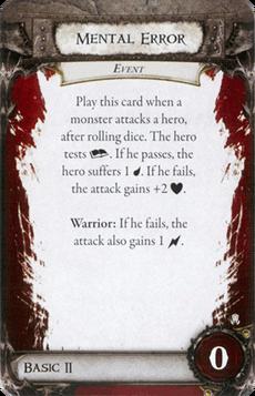Overlord Card - Mental Error