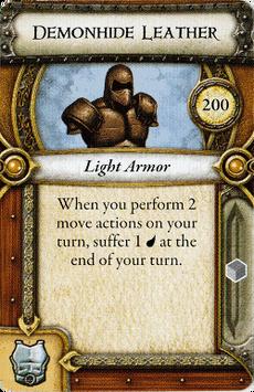Act II Item - Demonhide Leather