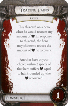 Overlord Card - Trading Pains