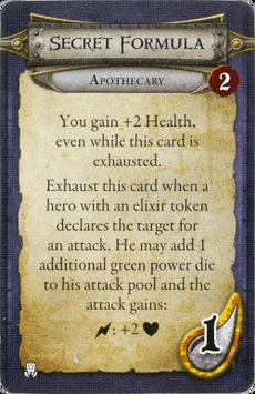 Apothecary - Secret Formula