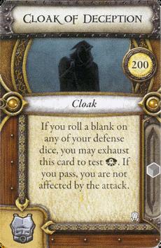Act II Item - Cloak of Deception