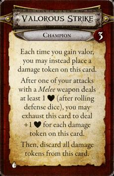 Champion - Valorous Strike