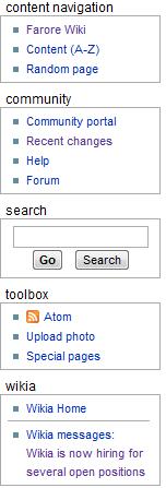 Farore Wiki sidebar