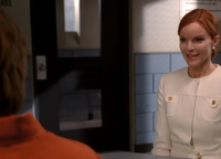 Bree visits prison