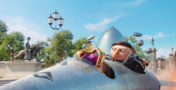 Gru flying scooter