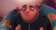 Gru's bald head