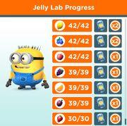 Jelly Lab Progress