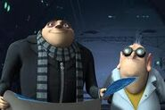 Nefario and Gru