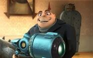 Gru holding the SR-6