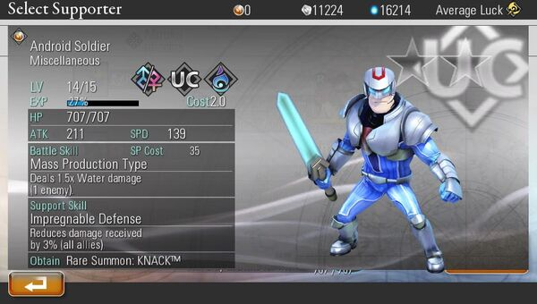 Android Soldier