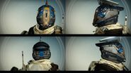 Destiny DURGA-GNT Type 0 Helmet Views