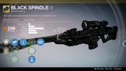 Black Spindle UI