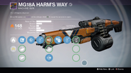 TTK MG18A Harm's Way Overlay