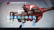 TTK Admonisher III Overlay