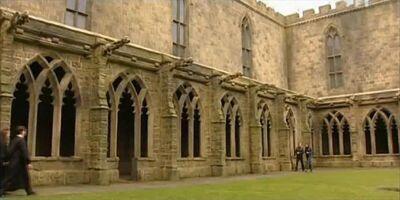 Transfiguration courtyard HBP