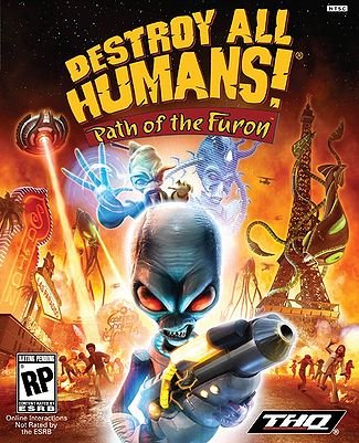 File:Destroy All Humans! Path of the Furon poster.jpg