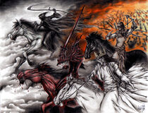 The Four Horsemen by Rive6