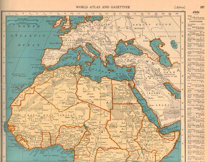 1940s Africa top