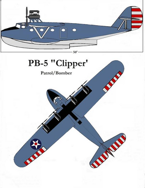 PB-5 'Clipper' by Taylor Anderson