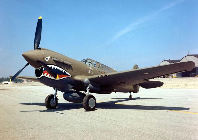 File:Curtiss P-40E Warhawk 2 USAF.jpg