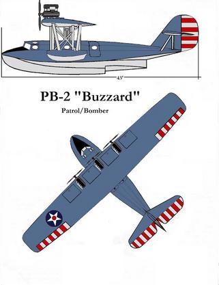 PB-2 'Buzzard' by Taylor Anderson