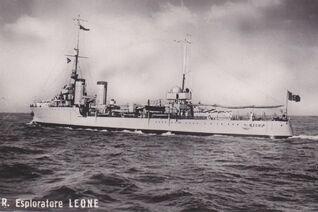 Italian Leone (esploratore) class DD