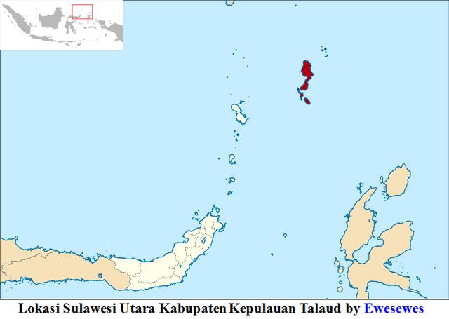 File:Lokasi Sulawesi Utara Kabupaten Kepulauan Talaud by Ewesewes.png