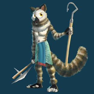 Lemurian male by RWHicks
