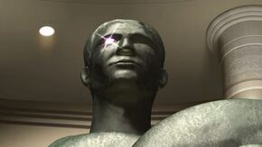 Bronze Statue Anime