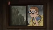 Grayson in the window