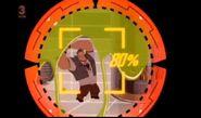36 Biffy destroying the machine