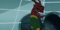 The Red Tatzelwurm