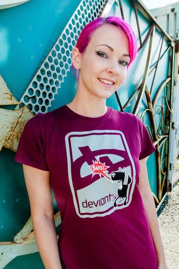 Deviant Bark T-Shirt -- Brick