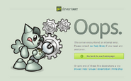 DeviantART 500 Internal Server Error