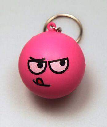 Horny Stress Ball Keychain
